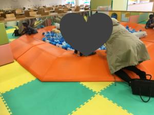 ピュアキッズ六地蔵店の赤ちゃんスペース