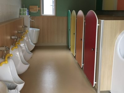 御所の杜保育園のトイレ