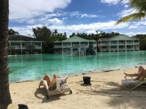 セブ島プランテーションベイホテルのプール