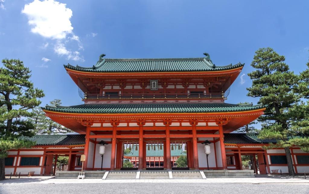京都岡崎にある平安神宮