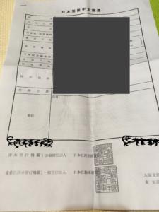 中国語翻訳文
