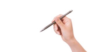 翻訳しようとするペン