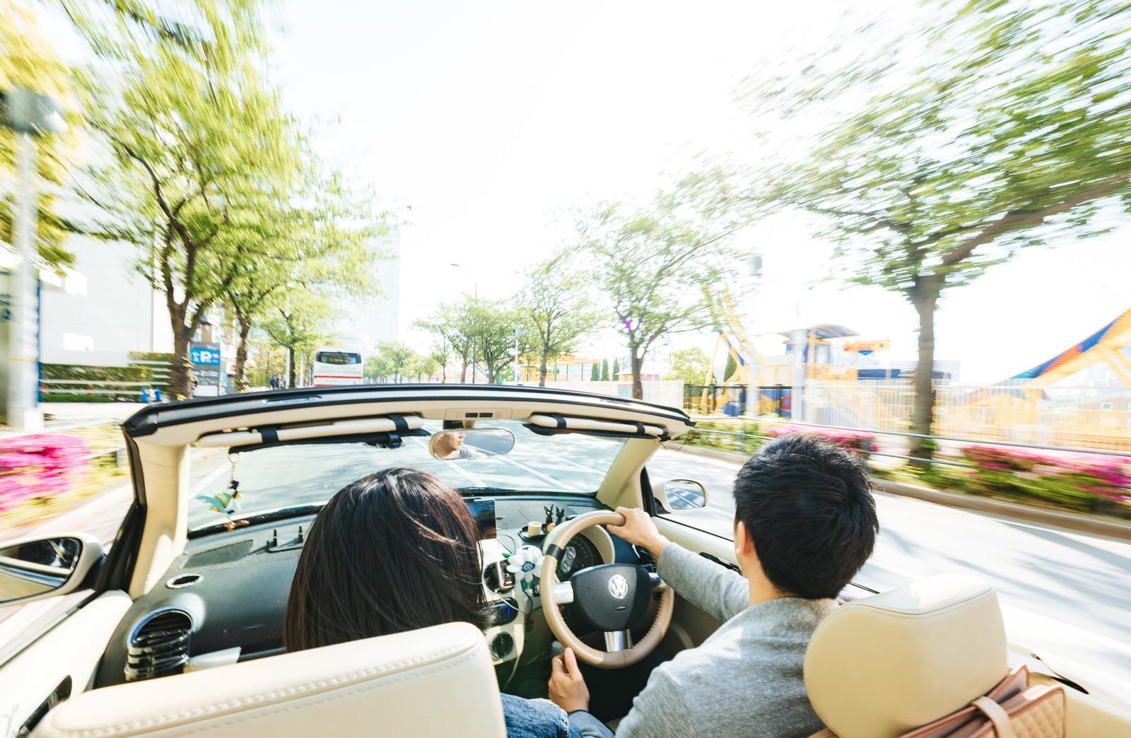 台湾で運転する妄想図