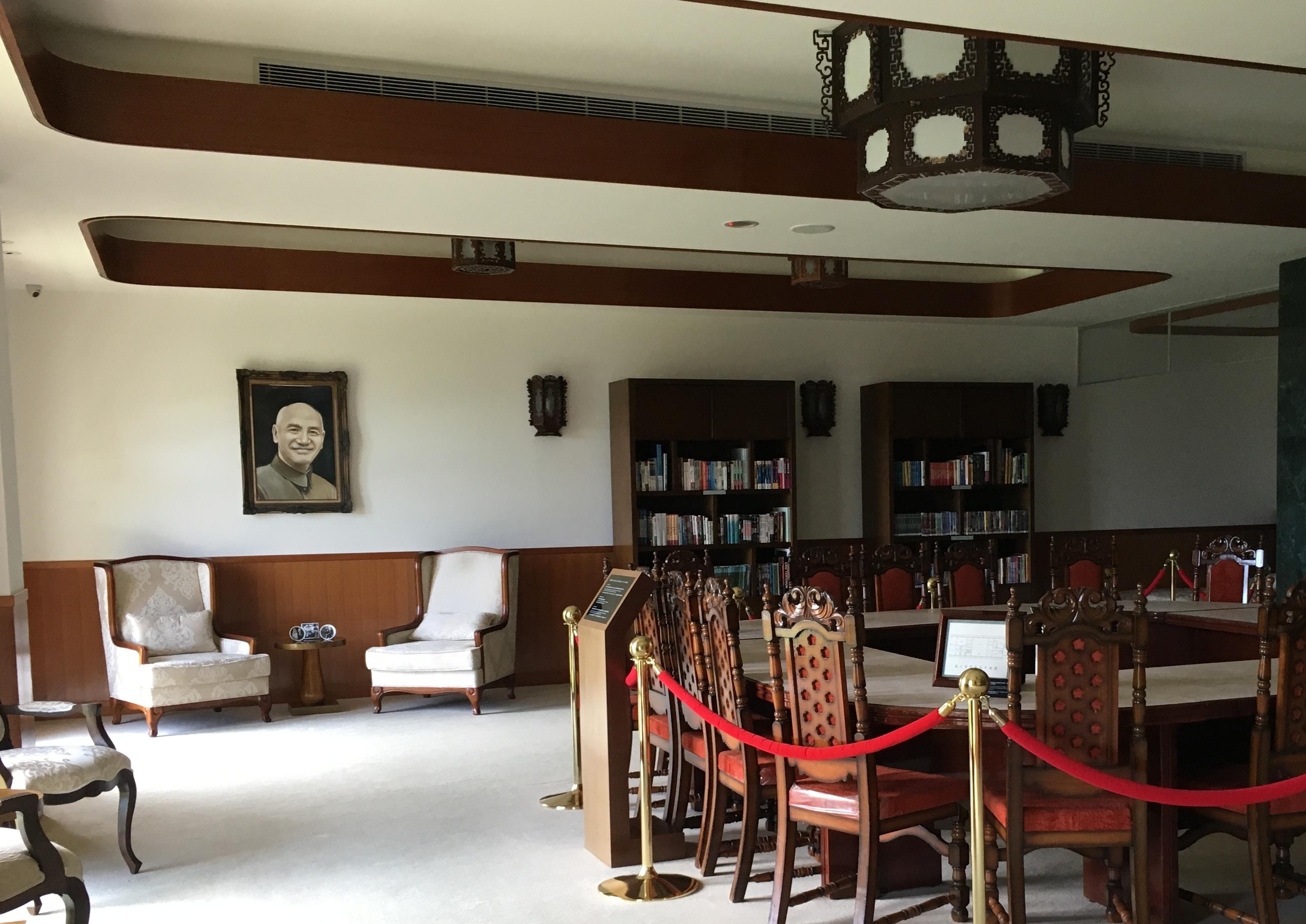 ホテル・グロリアマナーにゆかりのある蒋介石