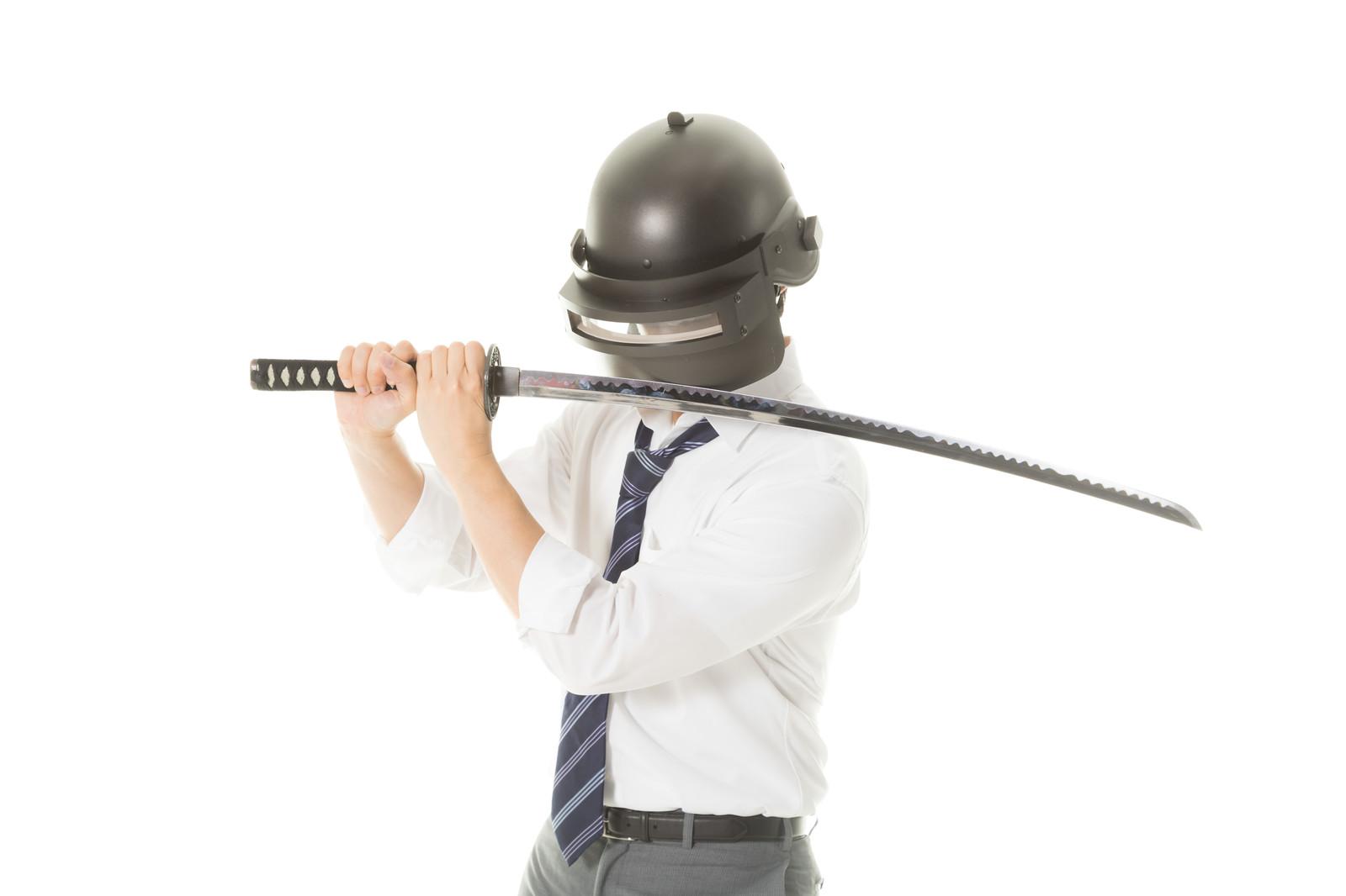 京都室内刀遊び