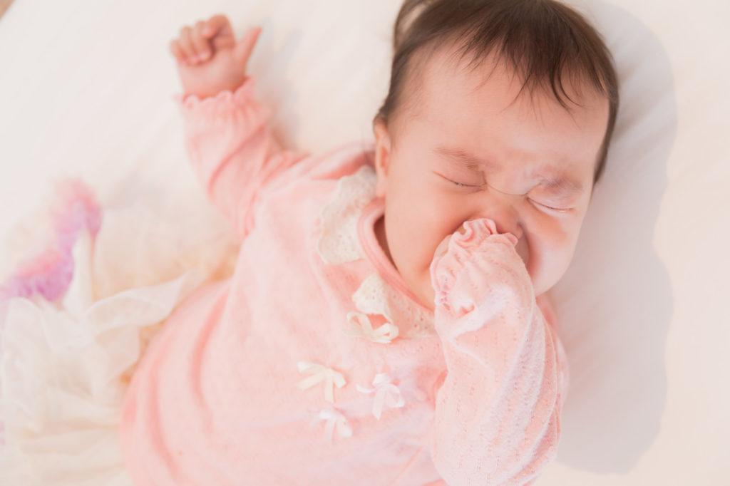 産休育休中の資格赤ちゃん