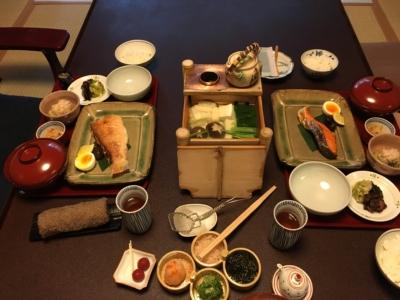 俵屋旅館公式の夜ご飯