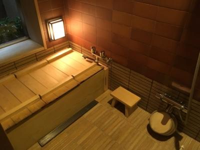 京都俵屋旅館のお風呂