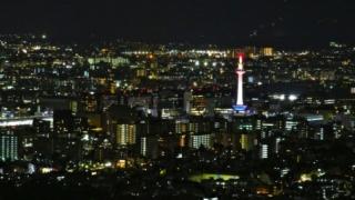 京都のインスタ映え京都タワー