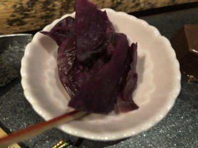 京都祇園北川半兵衛カフェの茶詠み煎茶の柴漬け