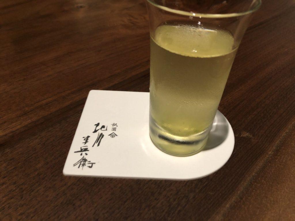 京都祇園北川半兵衛カフェ茶詠み煎茶