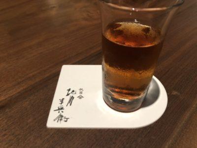 京都祇園北川半兵衛カフェの茶詠みほうじ茶