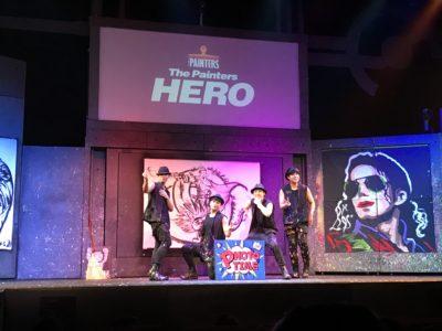 韓国ペインターズHEROのライブ中