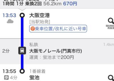 Itamiairport-to-Kyoto-kawaramachi
