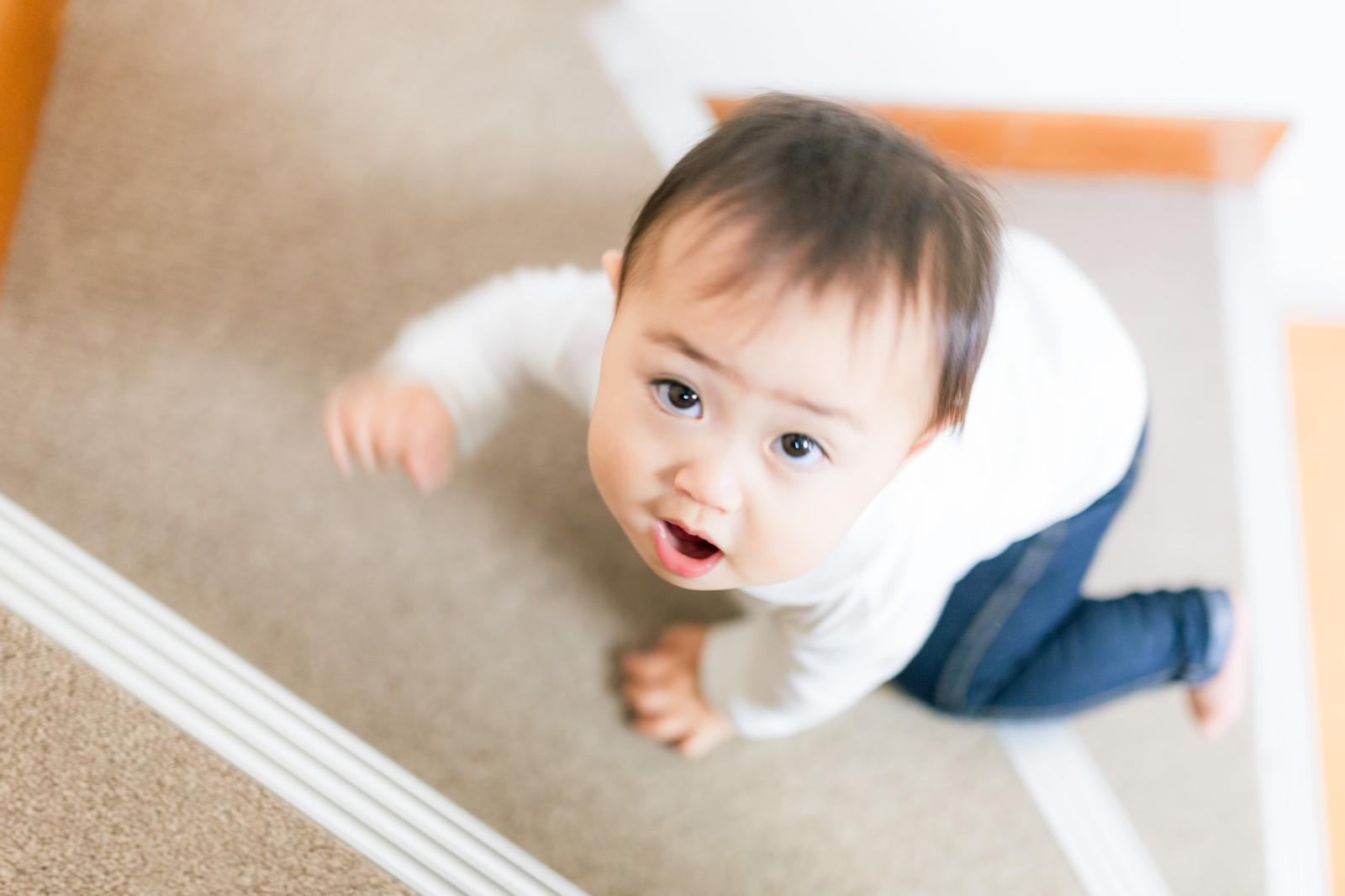 1歳の子供と家遊び