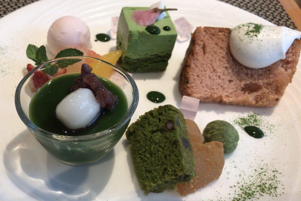 京都抹茶福寿園カフェ